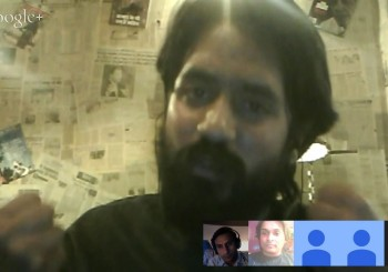 Cartoonist Aseem Trivedi during #Unfreedom Debate