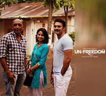 Hari Nair and Bhanu Uday at FTII on special screening of Unfreedom movie
