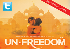 Twitter Reactions on banning of the film Unfreedom.